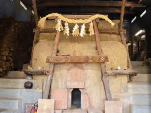 葵窯の登窯